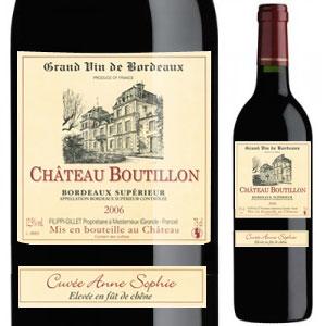 Bordeaux Supérieur - Cuvée Anne Sophie
